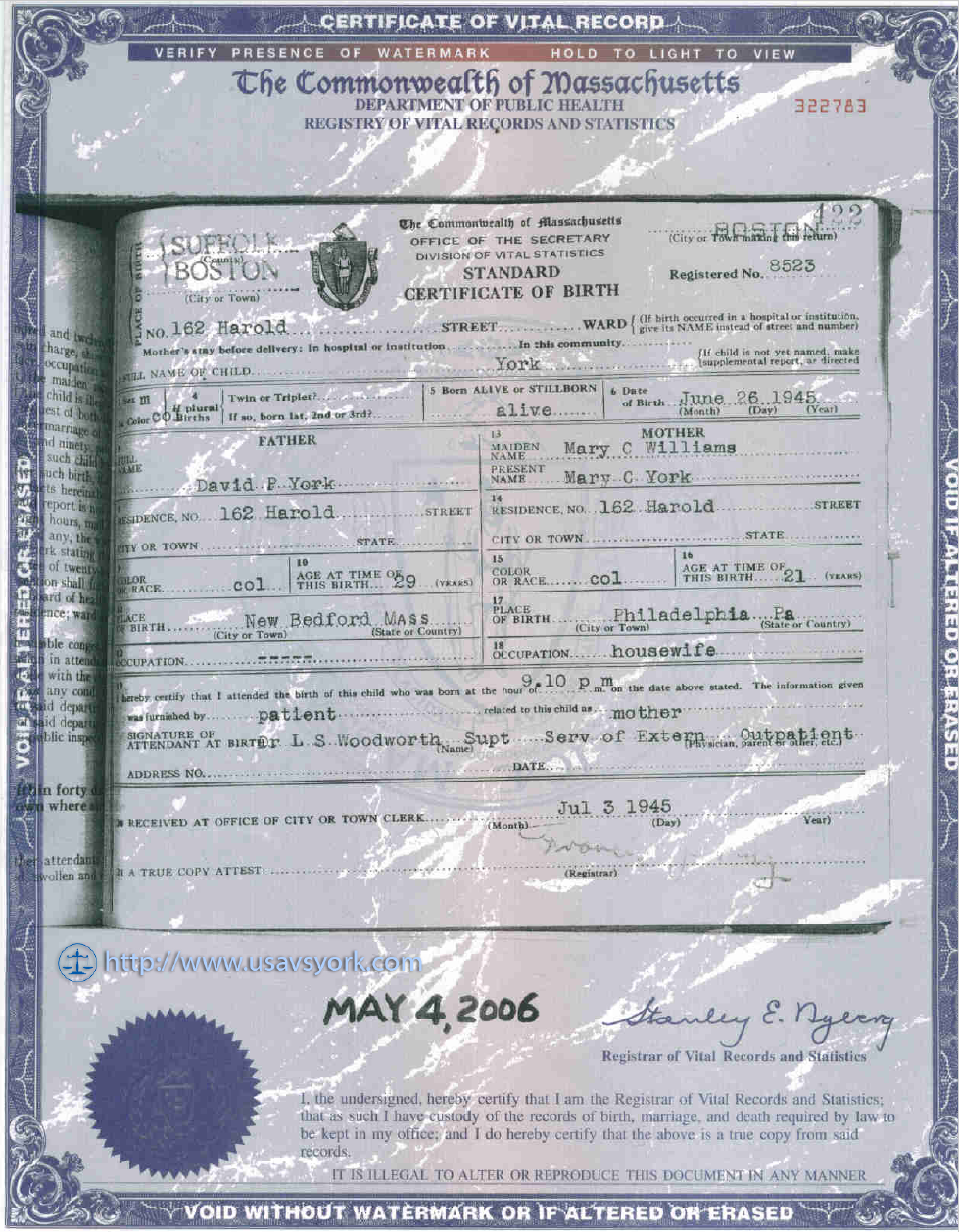 Ask the nuwaupians was malachi york born in ghana west africa the birth certificate does not have the word male as stated by york it has his last name york there is no name dwight on it because he didnt aiddatafo Image collections