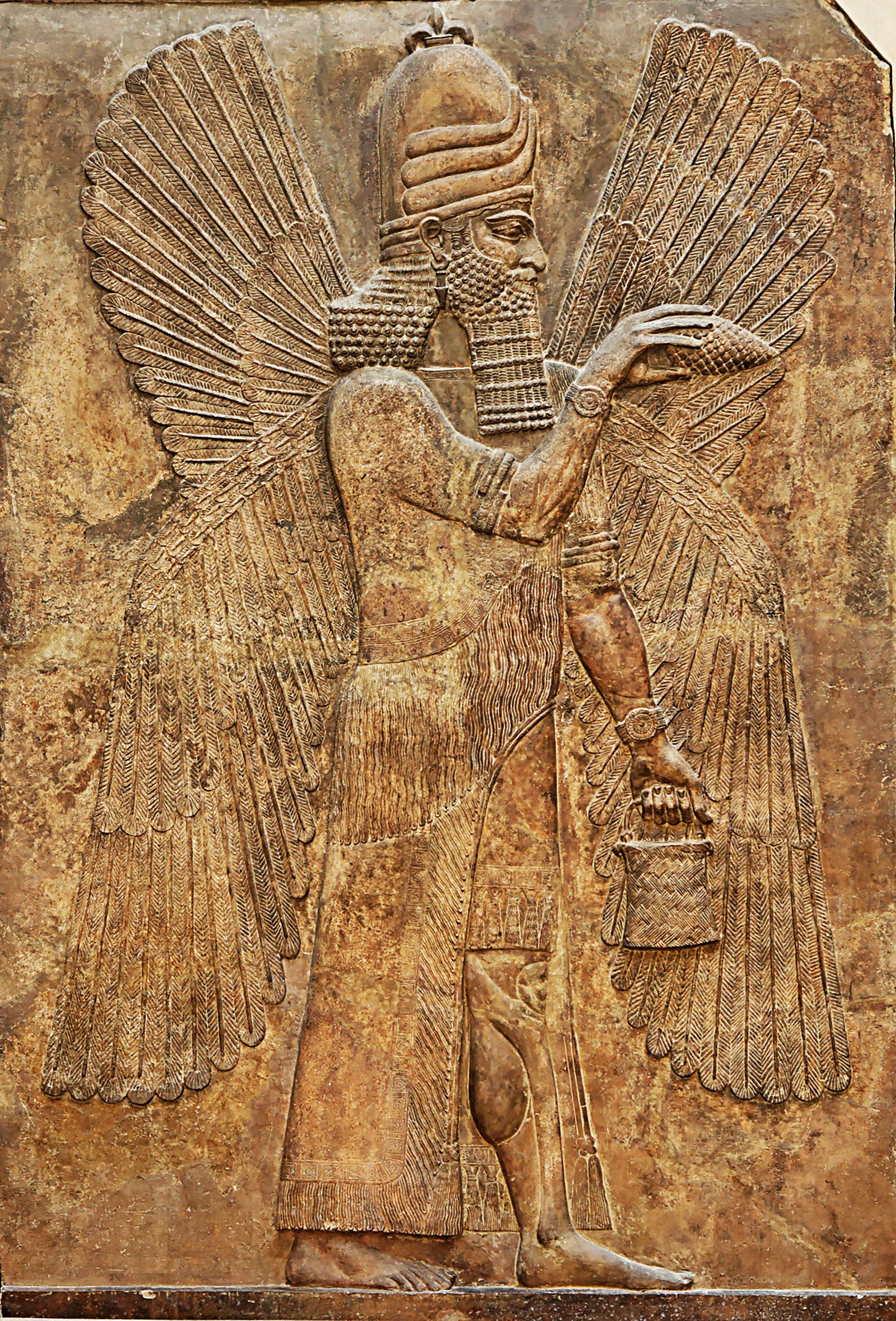 Ask The Nuwaupians Are The Anunnaki Flying Around With Wings